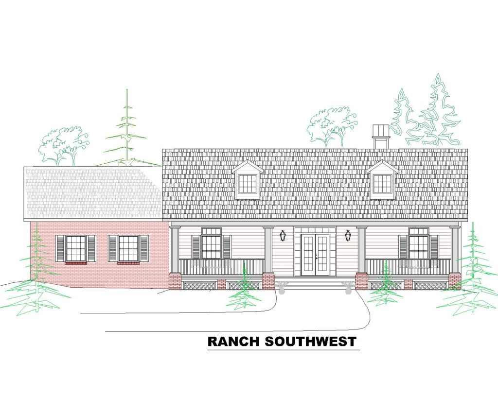 1703 House Front Elevation.