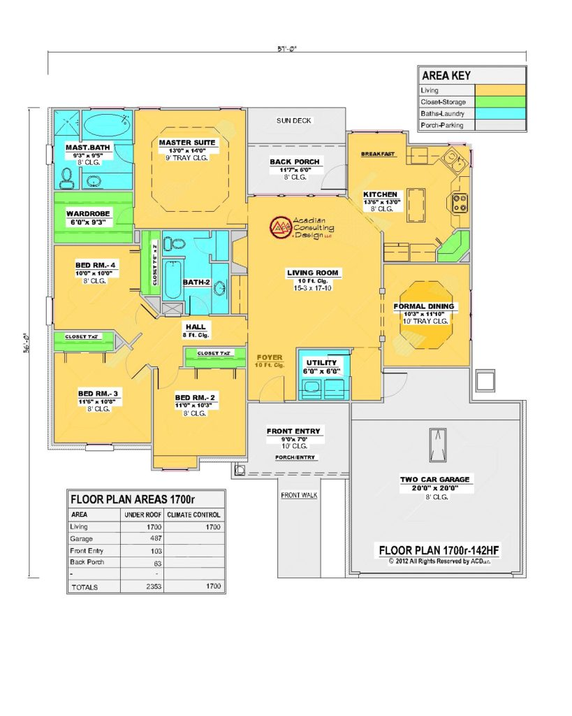 1700r House Floor Plan French Country.