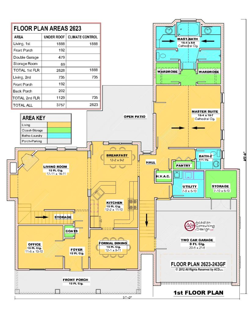 2623-243GF-1st Floor Plan