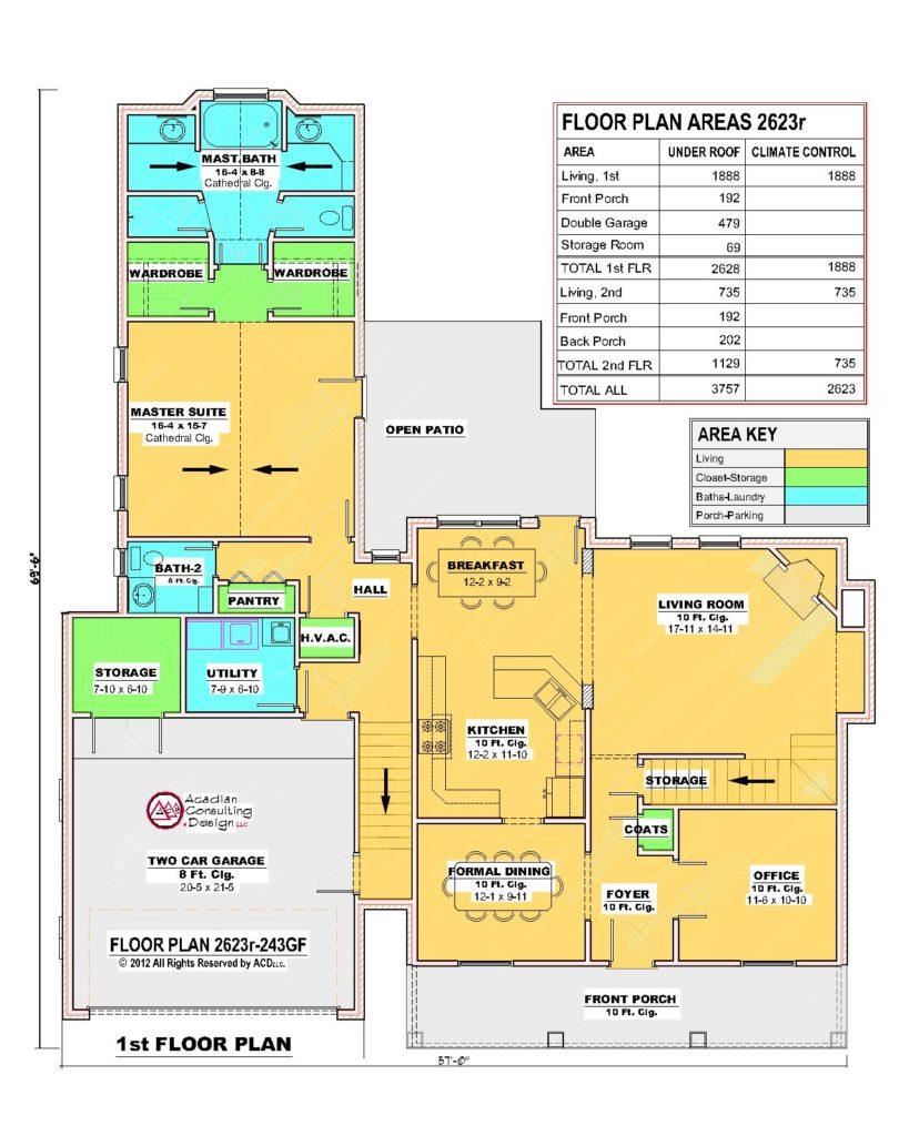 2623r-243GF-1st Floor Plan