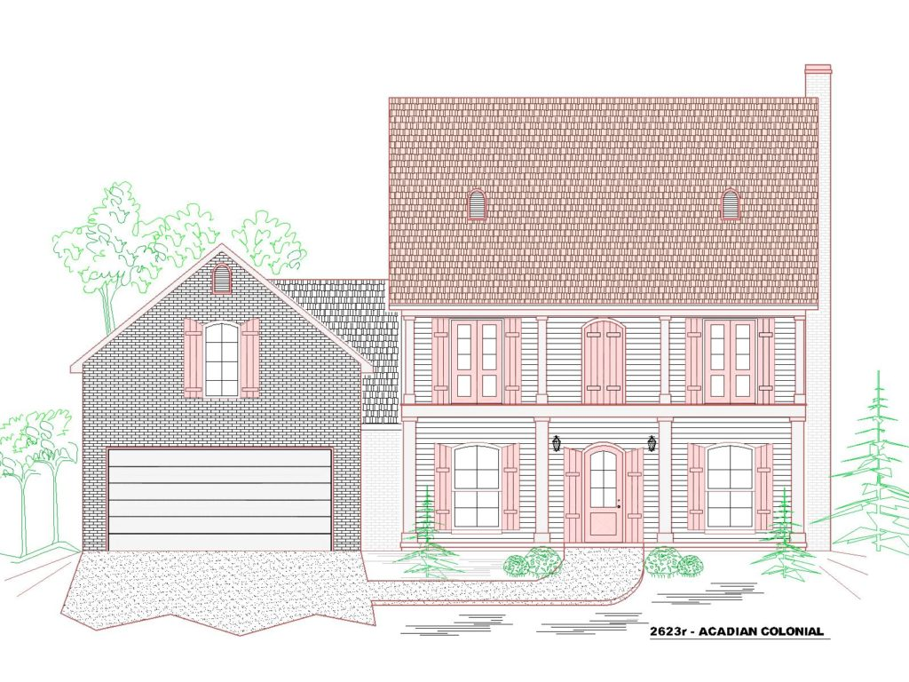 2623r-243GF-House Front Elevation