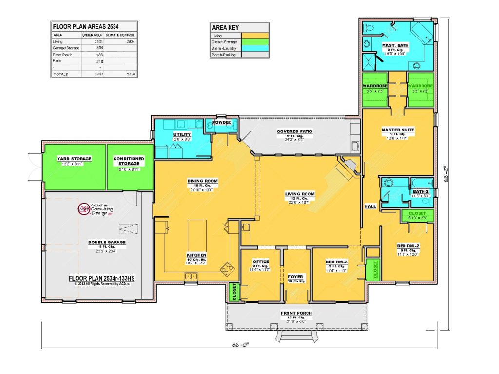 2534r House Floor Plan.