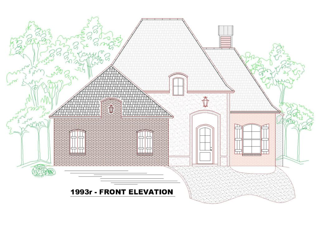 1993r-142hf-house-front-elevation