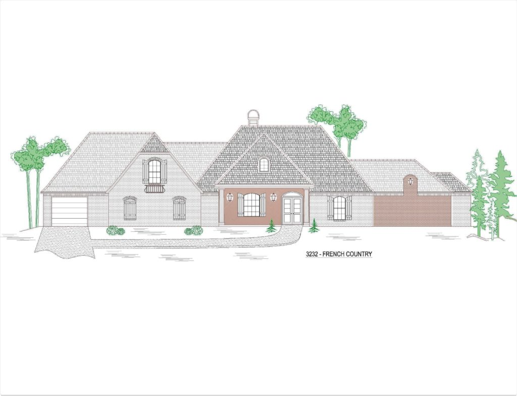 3232-144hs-house-front-elevation